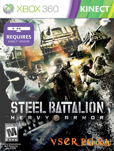 Постер игры Steel Battalion Heavy Armor [Xbox 360]