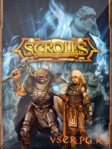 Постер игры Scrolls