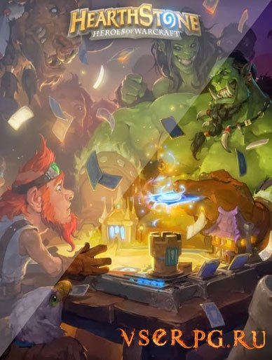 Постер игры Hearthstone Heroes of Warcraft [iPhone iOS]