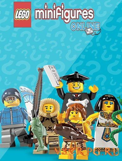 Постер игры Lego Minifigures Online [iOS iPhone]