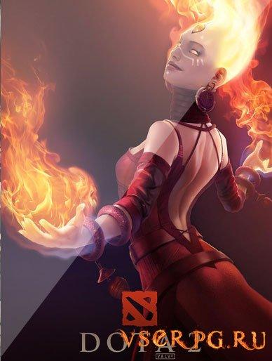 Постер игры Dota 2