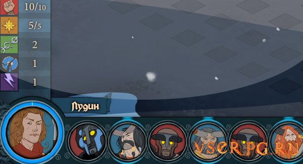 The Banner Saga screen 2