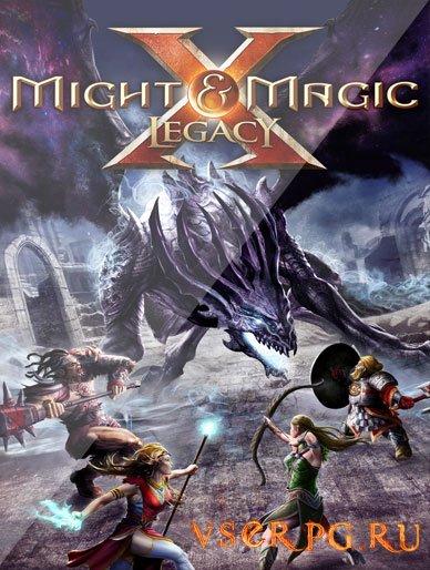 Постер игры Might and Magic X Legacy