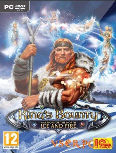 Постер игры King's Bounty Воин Севера Лед и пламя