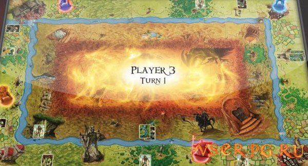 Talisman Digital Edition screen 1