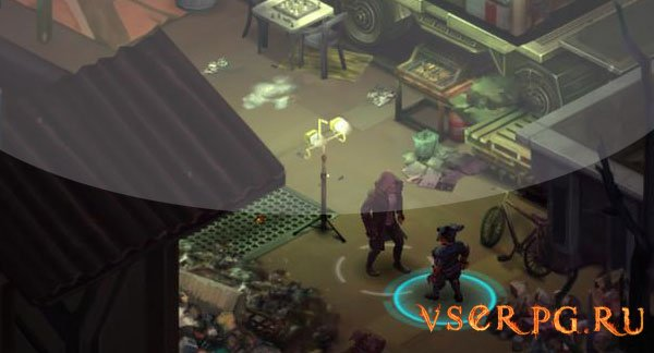 Shadowrun Dragonfall screen 2