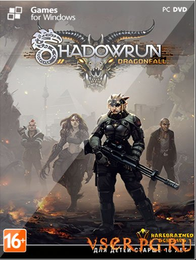 Постер игры Shadowrun Dragonfall