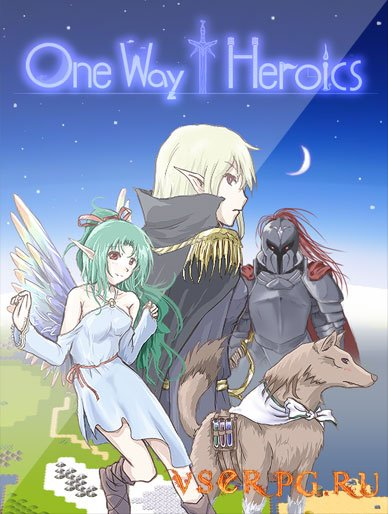 Постер игры One Way Heroics