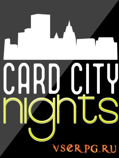 Постер игры Card City Nights [Android]