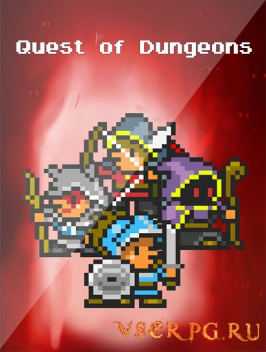 Постер игры Quest of Dungeons