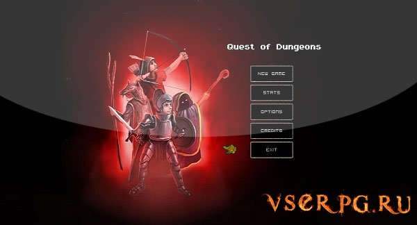 Quest of Dungeons [Android] screen 1
