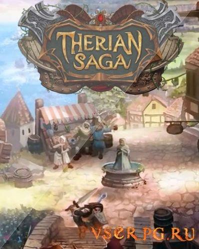 Постер игры Therian Saga