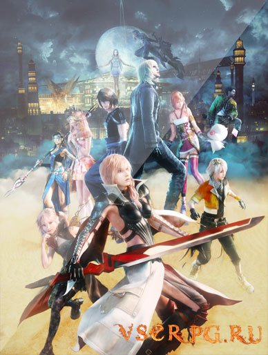 Постер игры Final Fantasy XIII: Lightning Returns