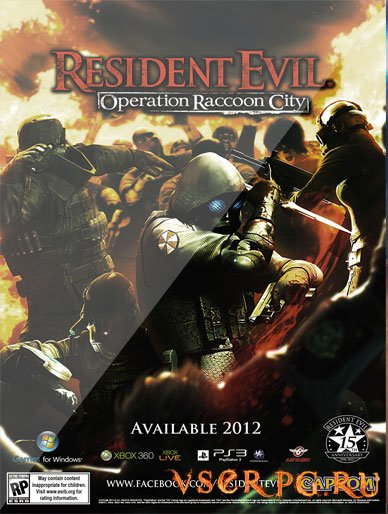 Постер игры Resident Evil Operation Raccoon City