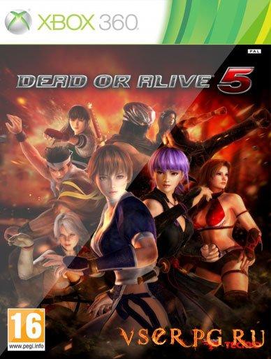 Постер игры Dead or Alive 5 [XBOX 360]
