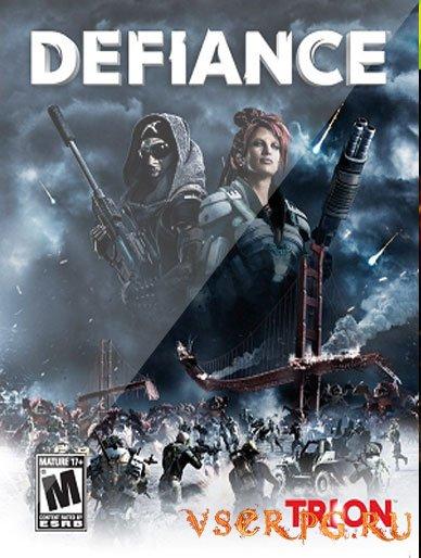 Постер игры Defiance