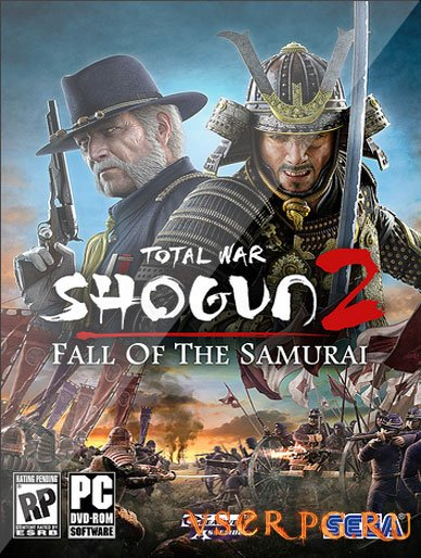 Постер игры Shogun 2 Fall of the Samurai