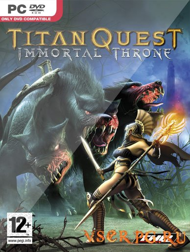 Постер игры Titan Quest Immortal Throne
