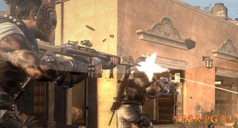 Army of Two The Devil's Cartel [XBOX 360] screen 2