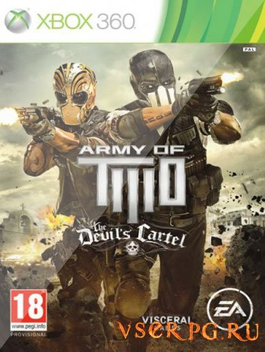 Постер игры Army of Two The Devil's Cartel [XBOX 360]