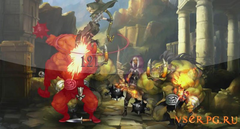 Dragons Crown screen 1