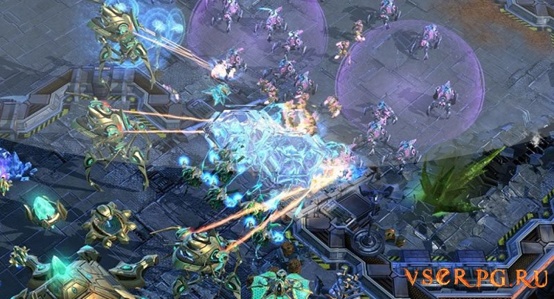 StarCraft 2 Legacy of the Void screen 1