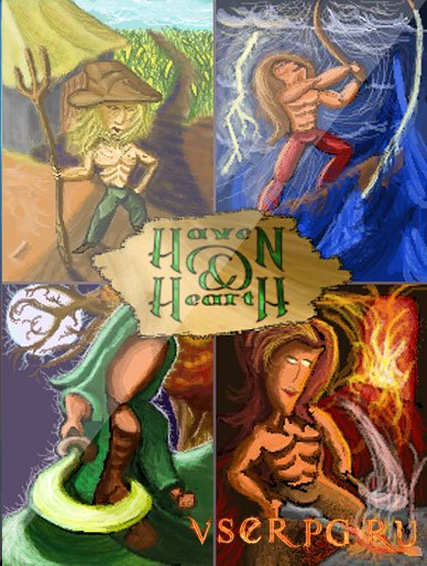 Постер игры Haven & Hearth