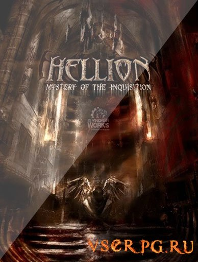 Постер игры Hellion Mystery of the Inquisition