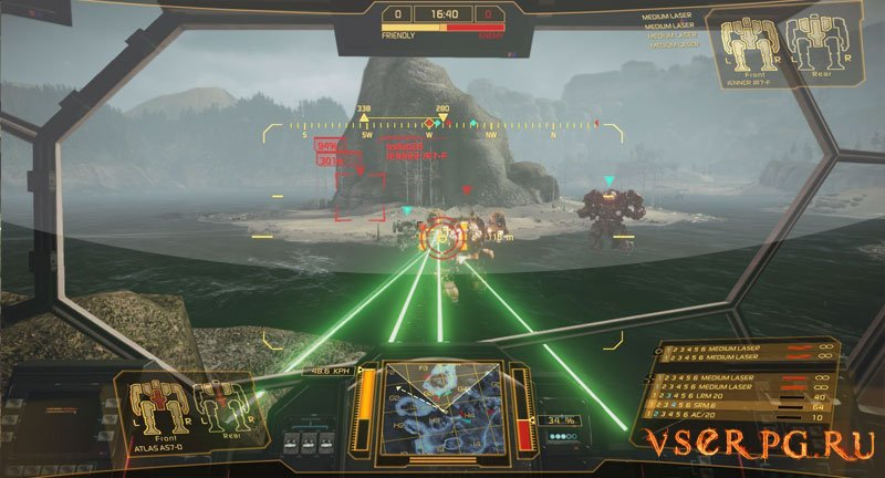 MechWarrior Online screen 2