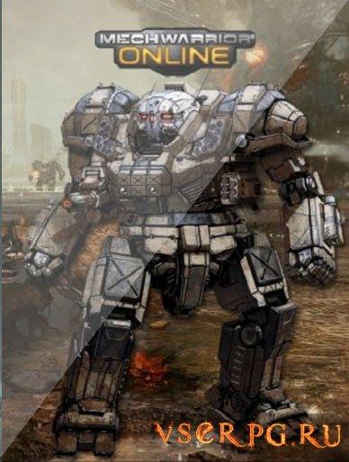 Постер игры MechWarrior Online