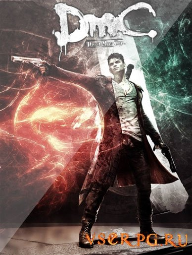 Постер игры DmC Devil May Cry 5