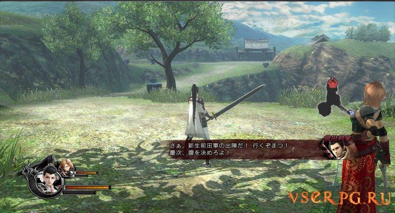 Sengoku Basara 4 [PS3] screen 1