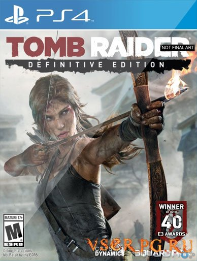 Постер игры Tomb Raider Definitive Edition [PS 4]