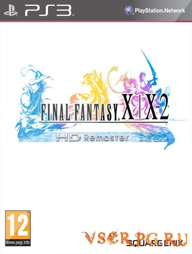 Постер игры Final Fantasy X/X-2 HD Remaster [PS3]