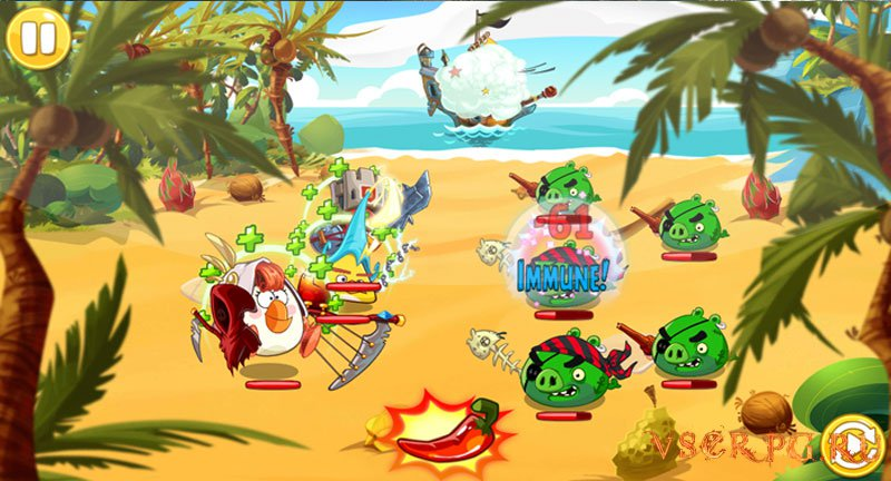 Angry Birds Epic [Android] screen 2
