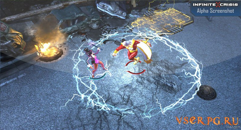 Infinite Crisis screen 3