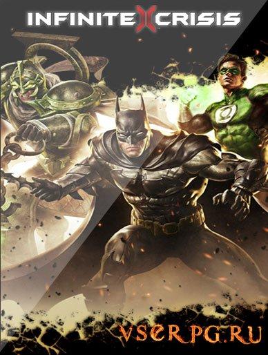 Постер игры Infinite Crisis
