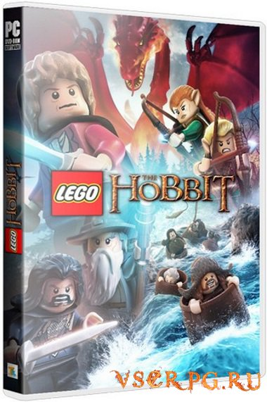 Постер игры LEGO The Hobbit