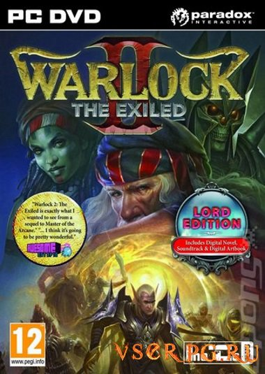 Постер игры Warlock 2 The Exiled