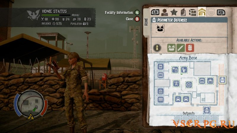 State of Decay Lifeline screen 1