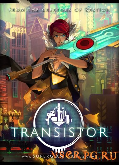 Постер игры Transistor
