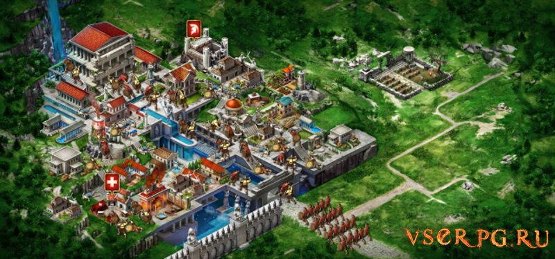 Game of War Fire Age [Android] screen 2