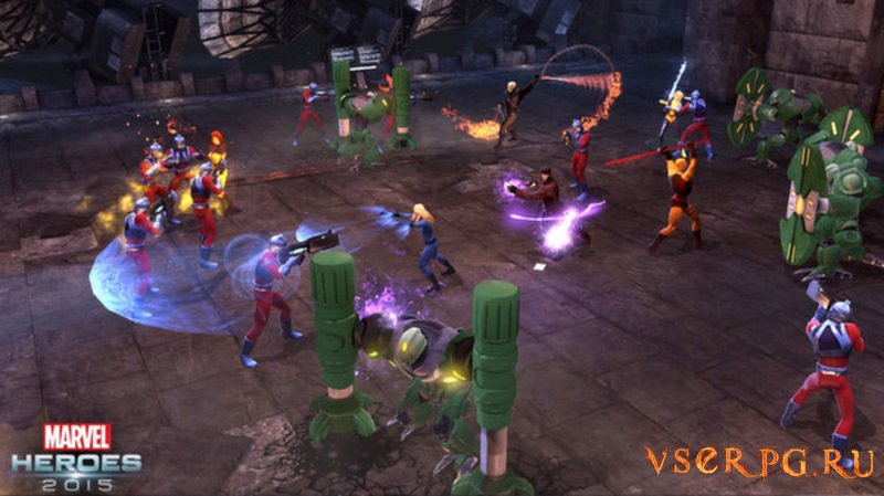 Marvel Heroes 2015 screen 2