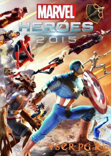 Постер игры Marvel Heroes 2015
