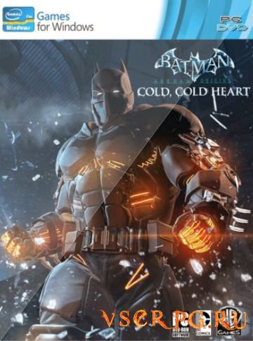 Постер игры Batman Arkham Origins Cold Heart