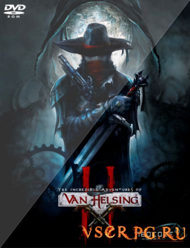 Постер игры The Incredible Adventures of Van Helsing 2