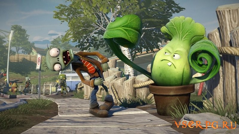 Plants vs Zombies Garden Warfare screen 1
