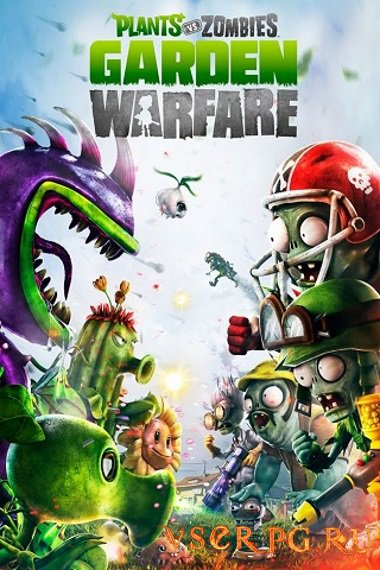 Постер игры Plants vs Zombies Garden Warfare