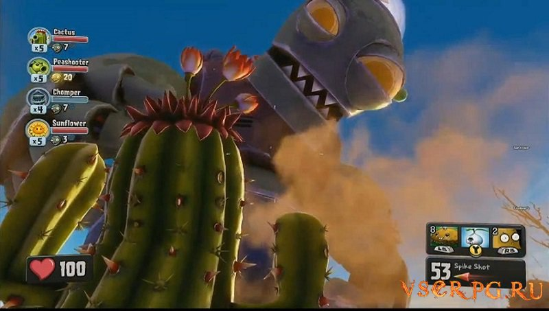 Plants vs Zombies Garden Warfare screen 3