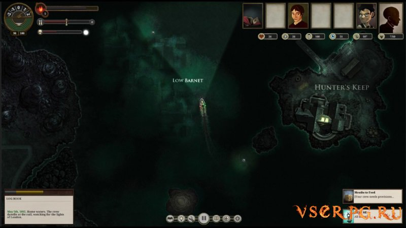Sunless Sea screen 1